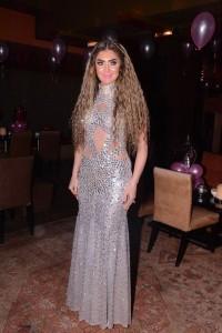 سحر شعراوي تصميم الفستان أحمد فايز