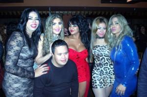 سحر شعراوي وصديقاتها